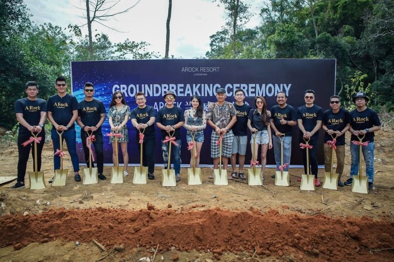 2018 A Rock Coral Reefs Groundbreaking Ceremony