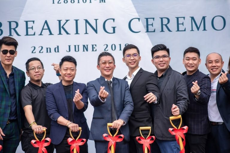 2019 A Rock Limestone Ground-breaking Ceremony